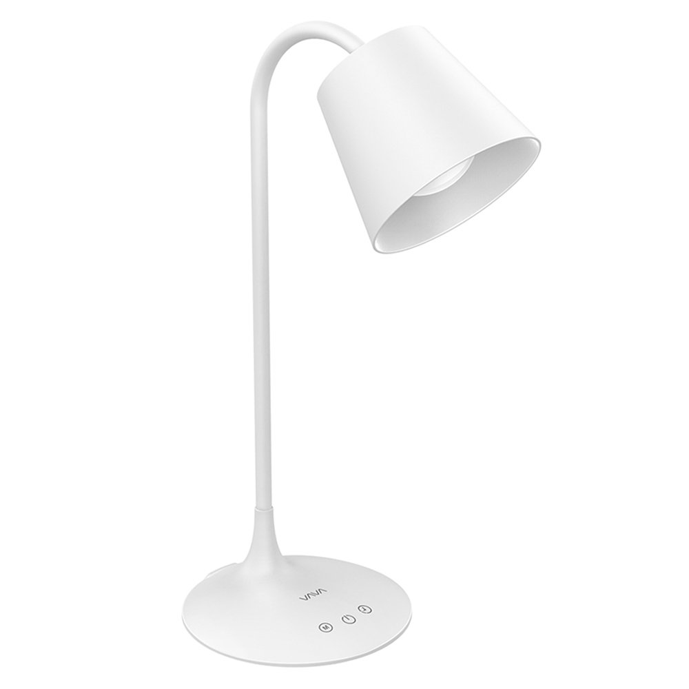 VAVA VA-DL29 LED Desk Lamp for Office Home Lighting, 3 Color Modes with Gradual Dimming, 1 Hour Timer Touch Control, Memory Function, Official Member of Philips Enabled Licensing Program