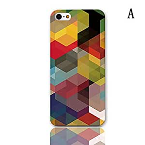 JOE MR.BEAM Series Design Hard Case with 3-Pack Screen Protectors for iPhone 5/5S , C