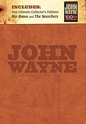 John Wayne Limited Edition Boxed Gift Set Includes: Rio Bravo Ultimate Collector's Edition and The Searchers Ultimate Collector's Edition