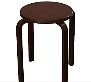 Amazon Com Wenge Bar Stools Counter Height 18 Inches Set