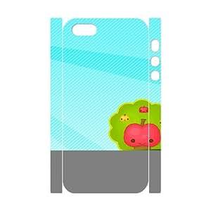 3D Fruit 76 IPhone 5,5S Case, Elegant Case Case for Iphone 5S Okaycosama {White}