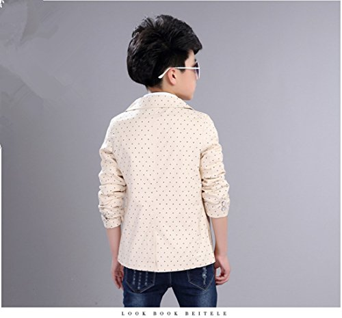 71d9f1d16 Boys  Fashion Suit Pocket Blazers Casual Jackets for Kids Size 2-12T ...