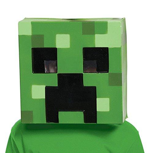Creeper Minecraft Child Mask (Minecraft Creeper Costume For Sale)