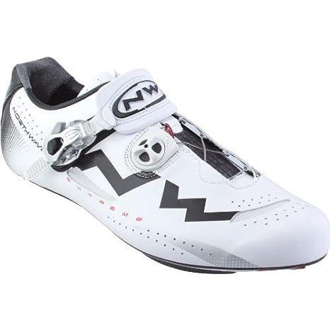 Zapatos Bicicleta de Carretera Northwave Extreme Tech N ° 46: Amazon.es: Deportes y aire libre