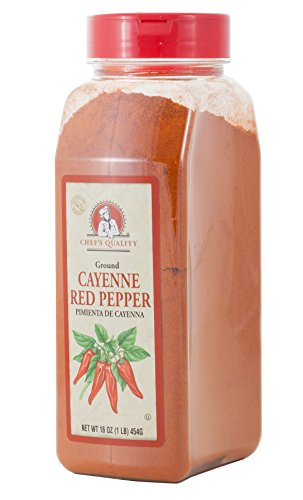 Ground Cayenne Red Pepper Powder- Chefs Quality, 1 LB (16Oz) (Best Way To Roast Red Peppers)