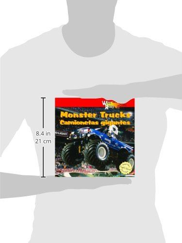 MonsterTrucks/Camionetas Gigantes (Wild Rides) (English and Spanish Edition) by Powerkids Pr (Image #1)