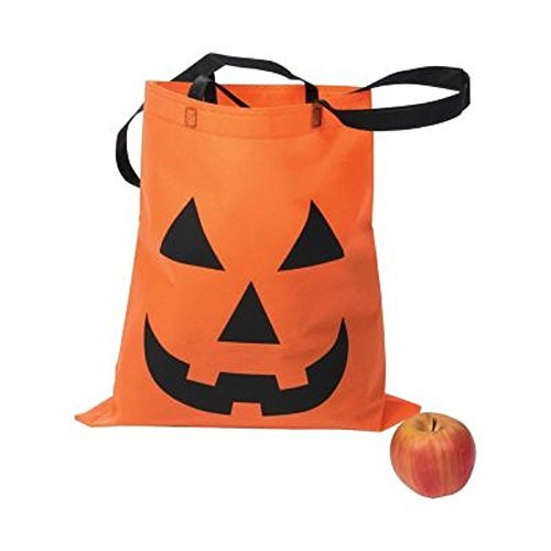 FX/OT 1 ~ Halloween Pumpkin Jack O' Lantern Tote Bag ~ 15