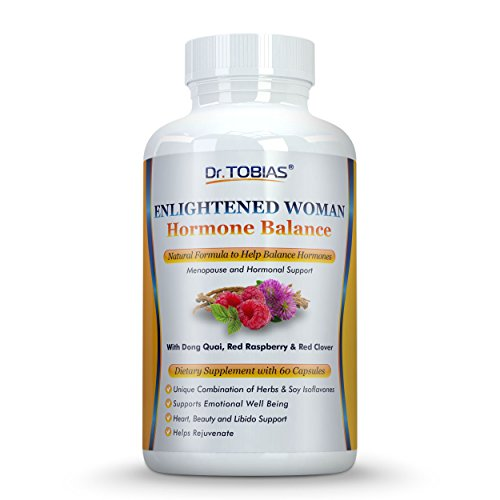 Dr. Tobias Menopause Supplement for Menopausal Support & Hot Flash Relief - Natural Help for PMS, Adrenal & Hormone Balance, Women's Health & - Menopause And Hormones
