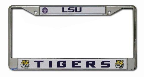 NCAA LSU Tigers Chrome Plate Frame