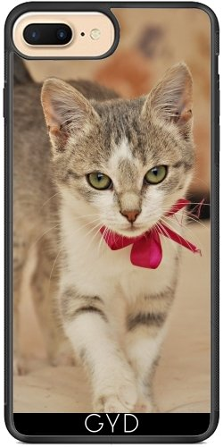 Coque Silicone pour Iphone 7 Plus / 8 Plus - Doux Chaton Chat by WonderfulDreamPicture