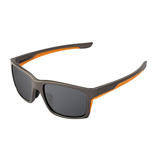 Matte Dark Grey Hunting Fishing Sunglasses Classic Retro Adult Style-Durable,Can Be Used For A Long - Frames Glasses Road Country