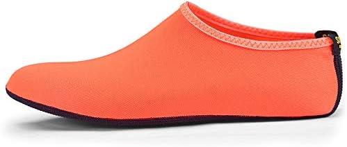 HYH 新しいオレンジ色の男性と女性のダイビングソックス速乾性シュノーケリングソックス大人のビーチ滑り止め 上流の靴 いい人生 (色 : Orange, Size : US7)