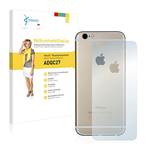 Vikuiti Pellicola Protettiva Schermo ADQC27 da 3M per Apple iPhone 6S Posteriore (totale + LogoCut)