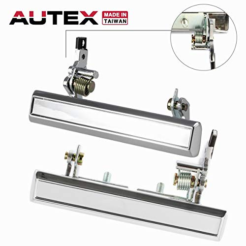 - AUTEX 2pcs Metal Exterior Door Handle Front Left Right Driver Passenger Side Compatible with 70 71 72 73 74 75 76 77 78 79 80 81 Chevy Camaro Caprice Impala Vega Pontiac Firebird Astre 77017 77019