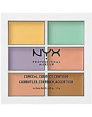 NYX Professional Makeup Concealer Color correcting palette, Makeup Palette, 9g