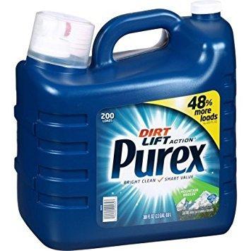 Purex Mountain Breeze Dirt Lift Action Liquid Laundry Deterg