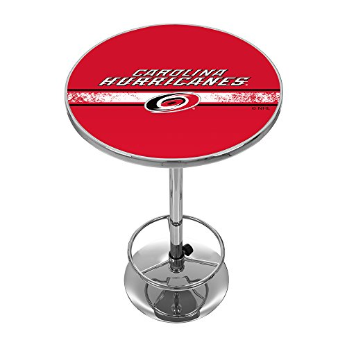 - Trademark Gameroom NHL Carolina Hurricanes Chrome Pub Table