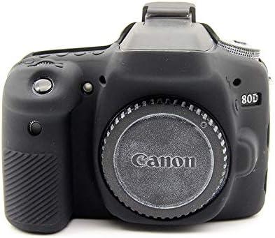 Zakao - Funda para cámara Digital Canon EOS 80D (Silicona, Ligera ...