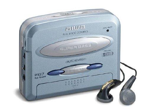 Aiwa HS PX 117 Baladeur Lecteur Cassette Bleu