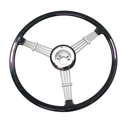 Empi Wheel - Empi Banjo Style Vintage Steering Wheel Kit, Black