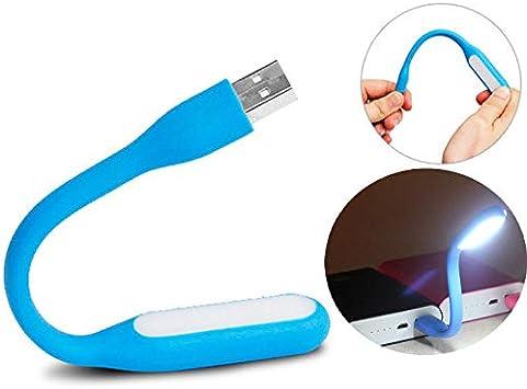 BYECHOW Lámpara LED de luz LED, luz USB portátil para portátil ...