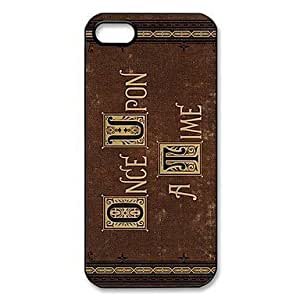 Once Upon a Time Pattern Plastic Hard Case for iPhone 5/5S