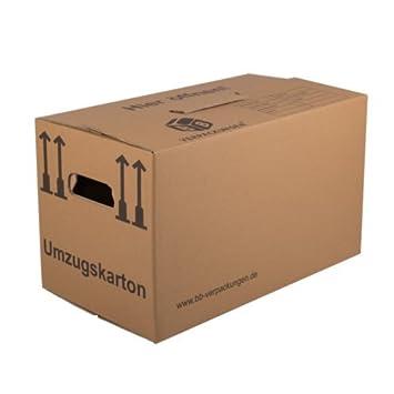 50 Umzugskartons Profi STABIL 2 WELLIG Umzug Karton Kisten Verpackung Bucher