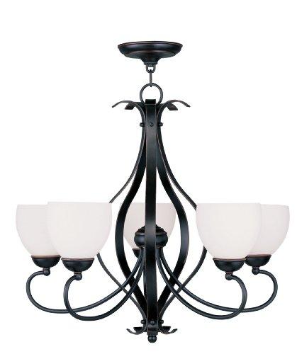 Livex Lighting 4765-67 Brookside 5-Light Chandelier, Olde Bronze