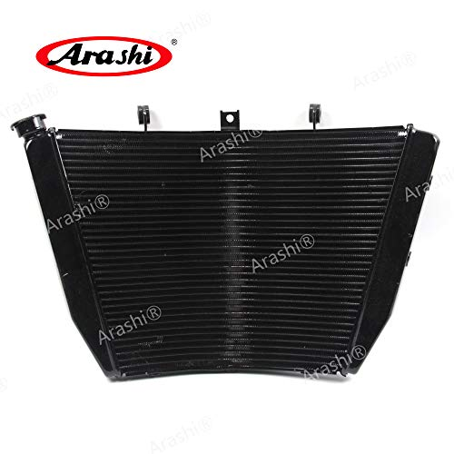 (Arashi Radiator Cooling Cooler for SUZUKI GSXR 1000 2009-2016 Motorcycle Replacement Accessories GSX-R GSX R GSXR1000 1 Pcs Black 2010 2011 2012 2013 2014 2015)