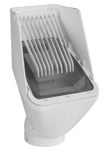 Rain Harvesting Pty Ltd RHUL99 Leaf Eater Ultra Rain Head- 3 in. Round