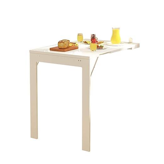 LHSUNTA Simplicidad Moderna Mesa de Comedor montada en la Pared ...