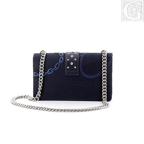 Pinko Borse da Donna Love Bag Blue Jacquard Primavera Estate 2018 Costos En Línea TUUGPEV7
