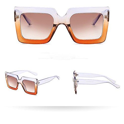 Women Man Vintage Big Frame Square Shape Sunglasses Eyewear Retro Unisex by ()