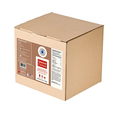 - Chocolate Creme Base Drink Mix - 25 LB BOX