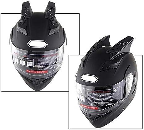 Cutogain Motorbike Helmet Horns,Motorbike,Helmet,1pair Motorbike Helmet Horns Punk Helmet Horn Motor Accessories
