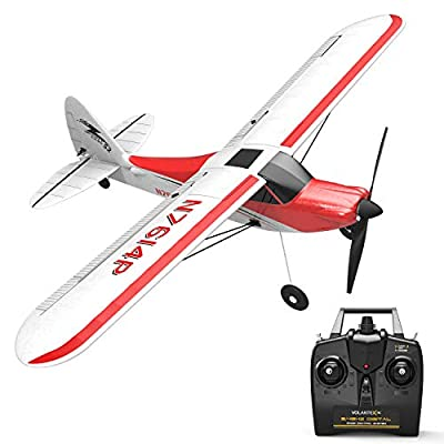 VOLANTEXRC 4sets Propeller with Black Nose and 2pcs Propeller Saver Shaft Adaptor for Remote Control Aircraf 761-1, 761-3, 761-4: Toys & Games