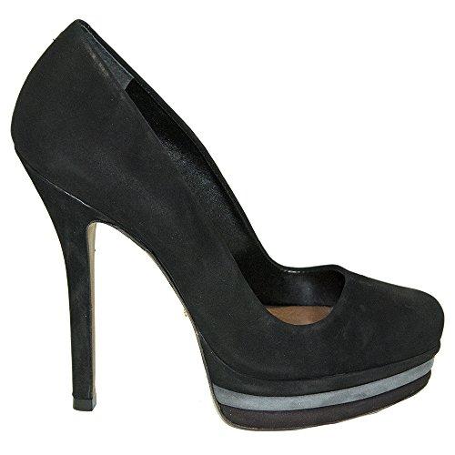 SCHUTZ Zapatos de Vestir de Ante Para Mujer Negro Negro