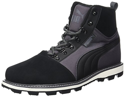 Puma Fur Unisex black Adulto Zapatillas 2 Negro asphalt Tatau Boot 76r57q