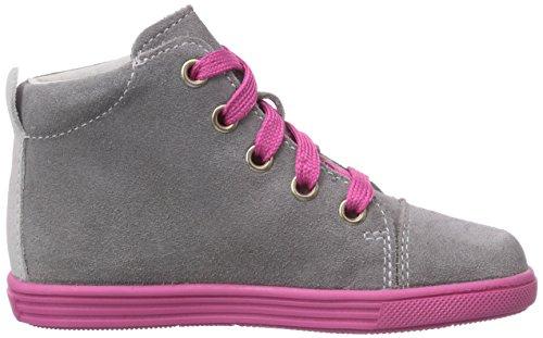 Richter Kinderschuhe Sing  0124-521 - zapatillas de running de cuero bebé gris - Grau (rock/iron  6101)