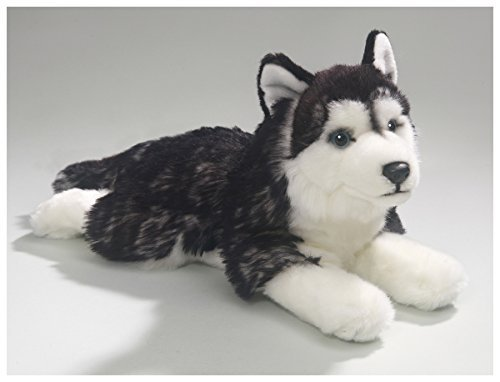 Stuffed Husky (Carl Dick Husky 12.5 inches, 32cm, Plush Toy, Soft Toy, Stuffed Animal 2783)