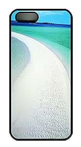 iPhone 5 5S Case Musha Cay Bahamas PC Custom iPhone 5 5S Case Cover Black