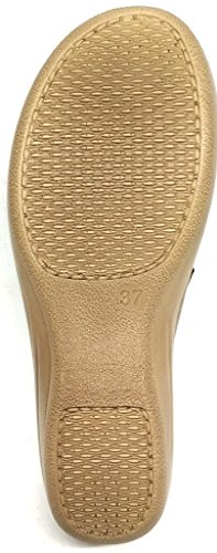 Inblu pantofole ciabatte invernali da donna art. LY-40 sabbia