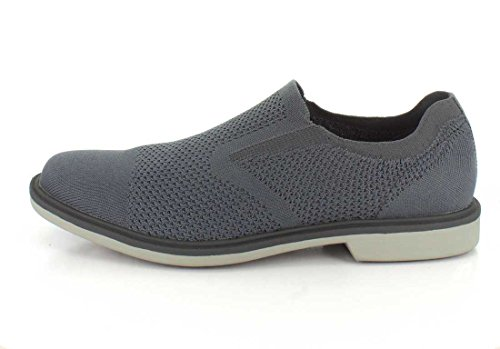 Mark Nason Los Angeles Heren Monza Dress Gebreide Slip-on Loafer Houtskool