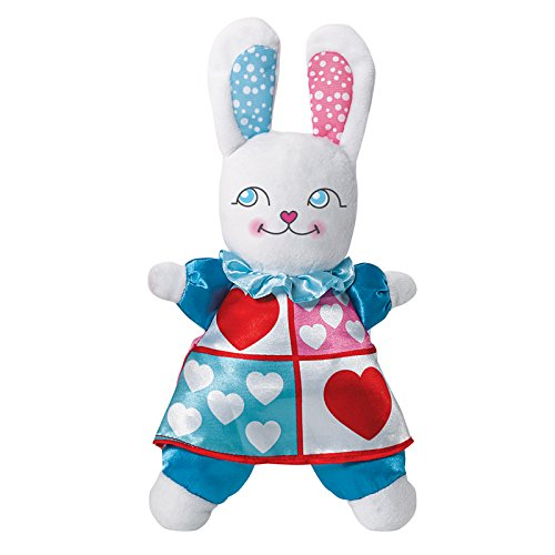 Madame Alexander White Rabbit Plush, - In Madame Alexander Alice Doll Wonderland