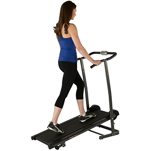Fitness Reality TR1000 Manual Treadmill with 2 Level Incline & Twin Flywheels by Fitness Reality (Image #3)