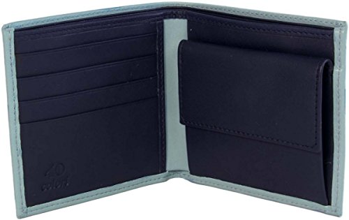 Colori Wallet Blue 40 Blue 40 Navy Wallet Mens Colori Mens Leather Navy 40 Leather Colori O5nwqAY4x