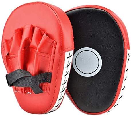 YIRANLT 2 PCSキックボクシンググローブパッドボクシングターゲットバッグ男性、PU空手ムエタイフリーキックボクシングトレーニングアダルトチルドレン機器