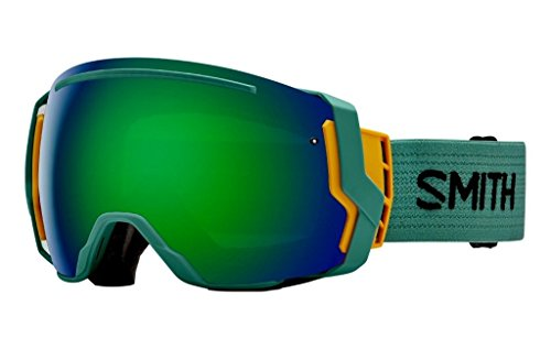 Price comparison product image Smith I/O 7: Snow Goggles - Frame: Ranger Scout; Lens: Green Sol-X Mirror, Red Sensor Mirror