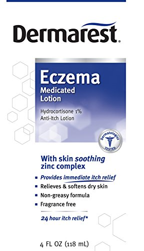 Dermarest Eczema Medicated Lotion, 4 fl. oz., Box