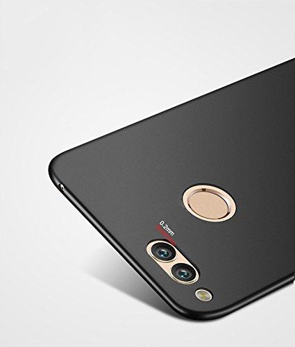 SMTR Huawei Honor 7x Funda, Calidad Premium Cubierta Delgado Caso de PC Hard Gel Funda Protective Case Cover para Huawei Honor 7x -Azul Oro rosa